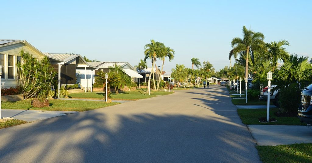Marco Shores Estates Street View Marco Shores Estates, 55+, 55 plus, 55-plus, Active Community, Naples, FL