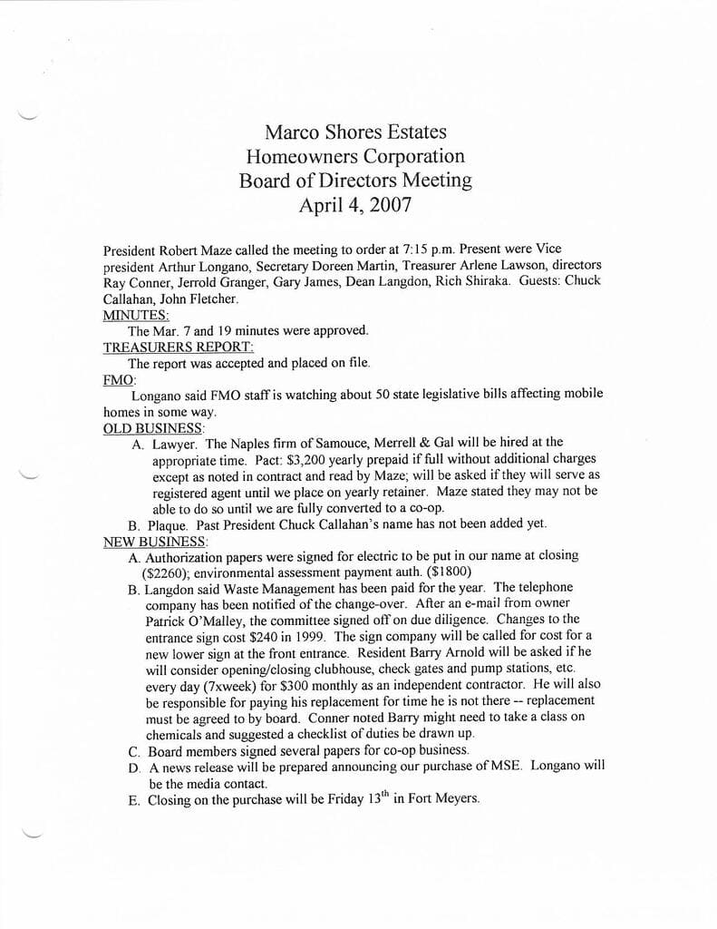 Board Minutes 4-4-2007 Page 1-Compressed