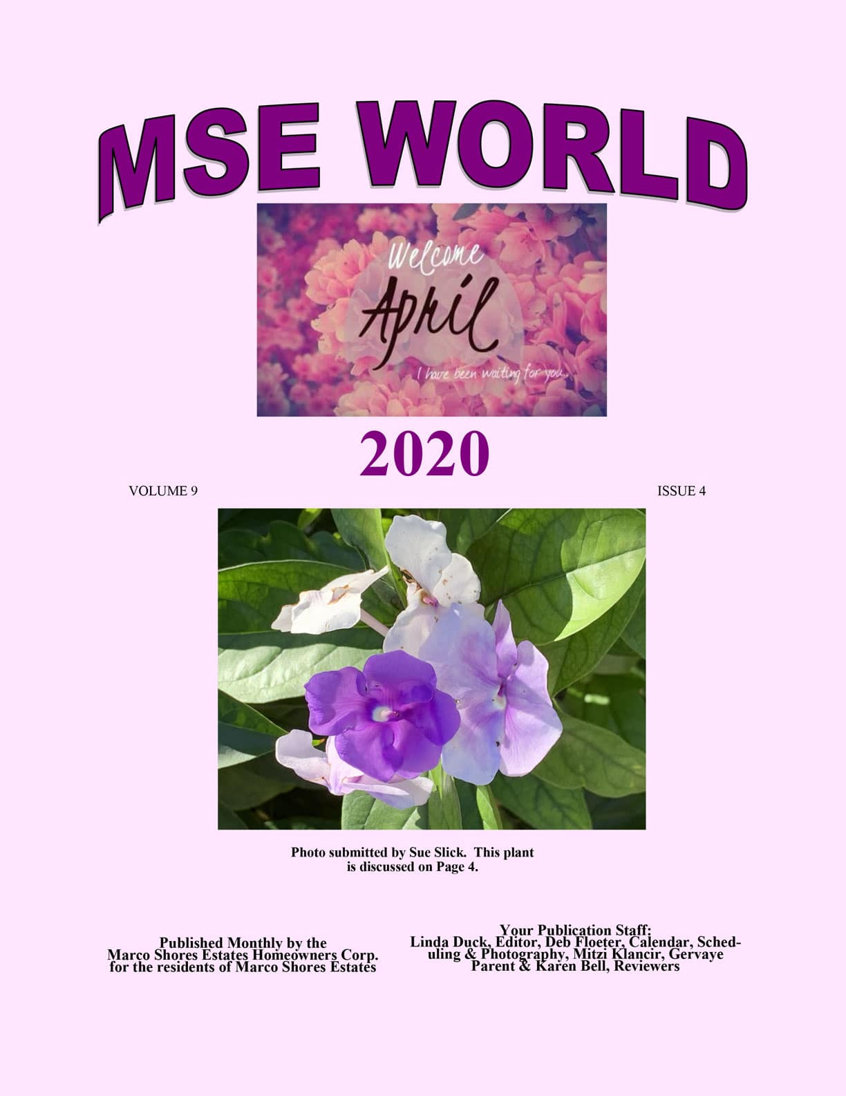 MSE World Apr 2020 Edition