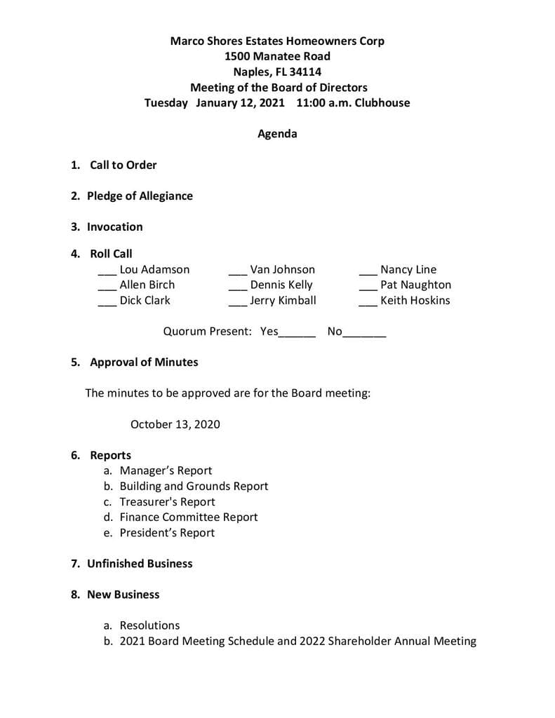 Agenda 1-12-2021 Page 1-Compressed