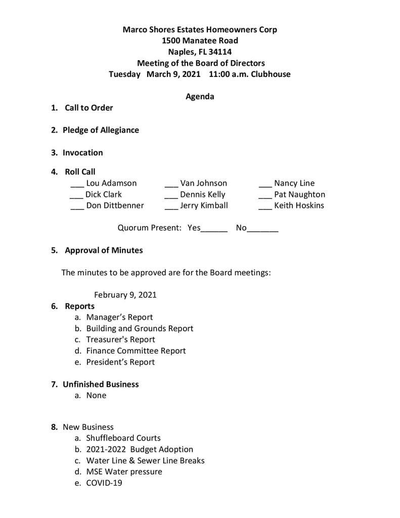 Agenda 3-9-2021 Page 1-Compressed